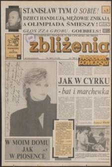 Zbliżenia : Tygodnik Pomorski, 1992, nr 33