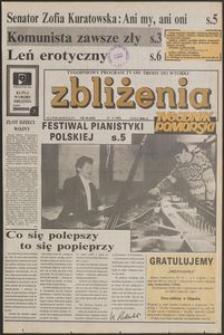 Zbliżenia : Tygodnik Pomorski, 1992, nr 38
