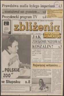 Zbliżenia : Tygodnik Pomorski, 1992, nr 40