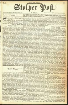 Stolper Post Nr. 47/1893