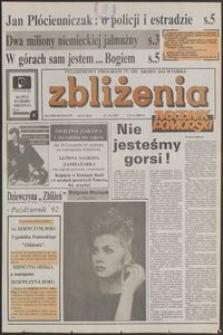 Zbliżenia : Tygodnik Pomorski, 1992, nr 43