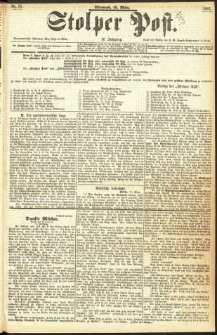 Stolper Post Nr. 63/1893