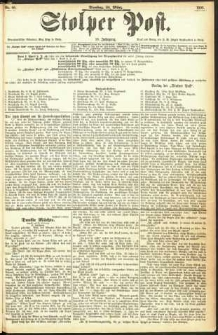 Stolper Post Nr. 68/1893
