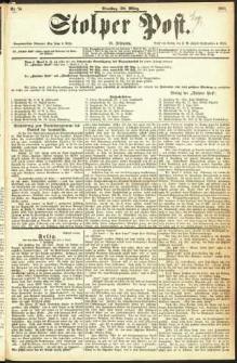 Stolper Post Nr. 74/1893