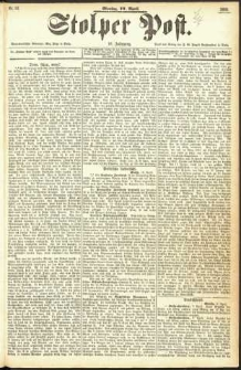 Stolper Post Nr. 83/1893