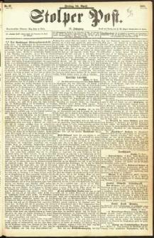 Stolper Post Nr. 87/1893