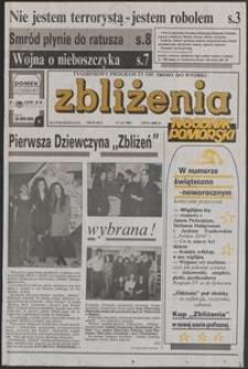 Zbliżenia : Tygodnik Pomorski, 1992, nr 51