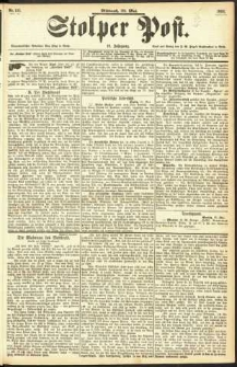 Stolper Post Nr. 125/1893