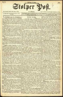 Stolper Post Nr. 133/1893
