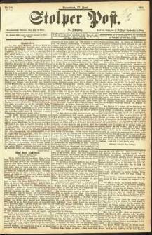 Stolper Post Nr. 140/1893
