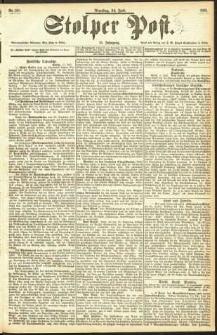 Stolper Post Nr. 160/1893