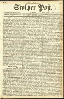 Stolper Post Nr. 161/1893