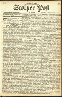 Stolper Post Nr. 195/1893