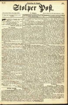 Stolper Post Nr. 198/1893