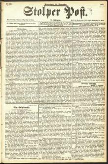 Stolper Post Nr. 272/1893