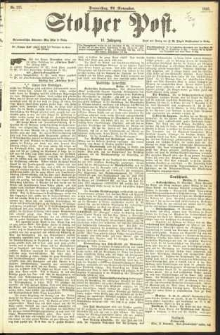Stolper Post Nr. 275/1893