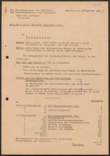 Ausbildung der Betriebs-San. Trupps im Erweiterten Selbstschutz in Erster Hilfe (Berichtigung). 20.02.1941