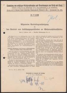 Allgemeine Vertriebsgenehmigung für den Vertrieb von Luftschutzgegenständen an Wehrmachtdiensstellen. 16.02.1940