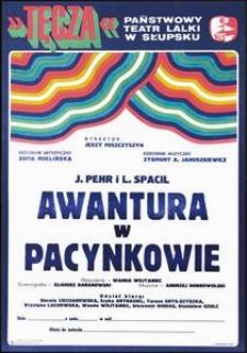 [plakat] : Awantura w Pacynkowie