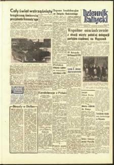 Dziennik Bałtycki 1963, nr 279