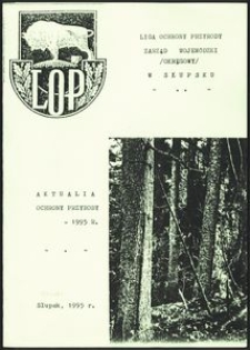 Aktualia Ochrony Przyrody, 1995, nr 3