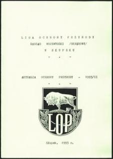 Aktualia Ochrony Przyrody, 1995, nr 4
