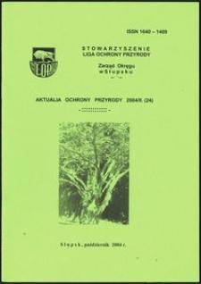 Aktualia Ochrony Przyrody, 2004, nr 24