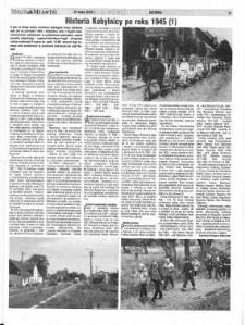Historia Kobylnicy po roku 1945 (1)
