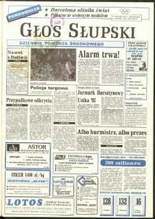 Głos Słupski, 1992, sierpień, nr 186