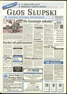 Głos Słupski, 1992, sierpień, nr 199