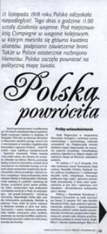 Polska powróciła