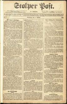 Stolper Post Nr. 2/1911