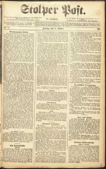 Stolper Post Nr. 11/1911