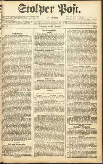 Stolper Post Nr. 14/1911