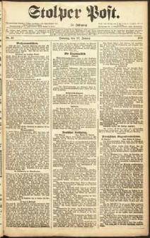 Stolper Post Nr. 19/1911