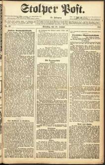 Stolper Post Nr. 20/1911