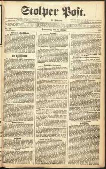 Stolper Post Nr. 22/1911