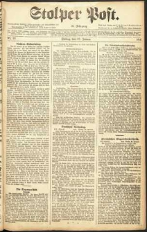 Stolper Post Nr. 23/1911