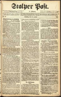 Stolper Post Nr. 26/1911