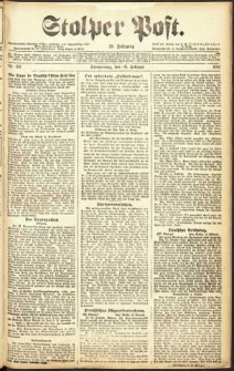 Stolper Post Nr. 40/1911