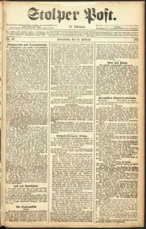 Stolper Post Nr. 42/1911