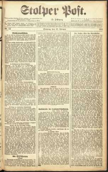 Stolper Post Nr. 43/1911