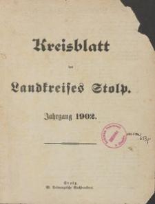Kreisblatt des Stolper Kreises, 1902