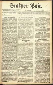 Stolper Post Nr. 50/1911