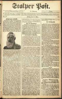 Stolper Post Nr. 59/1911