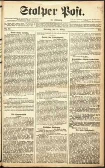 Stolper Post Nr. 62/1911