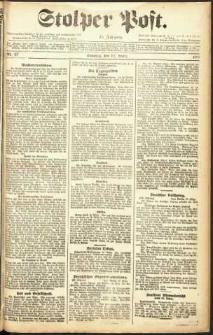 Stolper Post Nr. 67/1911