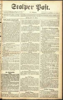 Stolper Post Nr. 71/1911