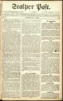 Stolper Post Nr. 72/1911