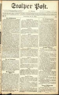 Stolper Post Nr. 76/1911